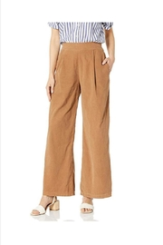 M made in Italy Corduroy Flare Culottes - Product Mini Image