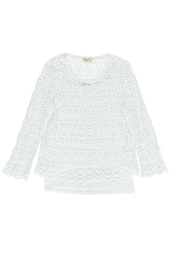 M made in Italy Lace Layer Top - Alternate List Image