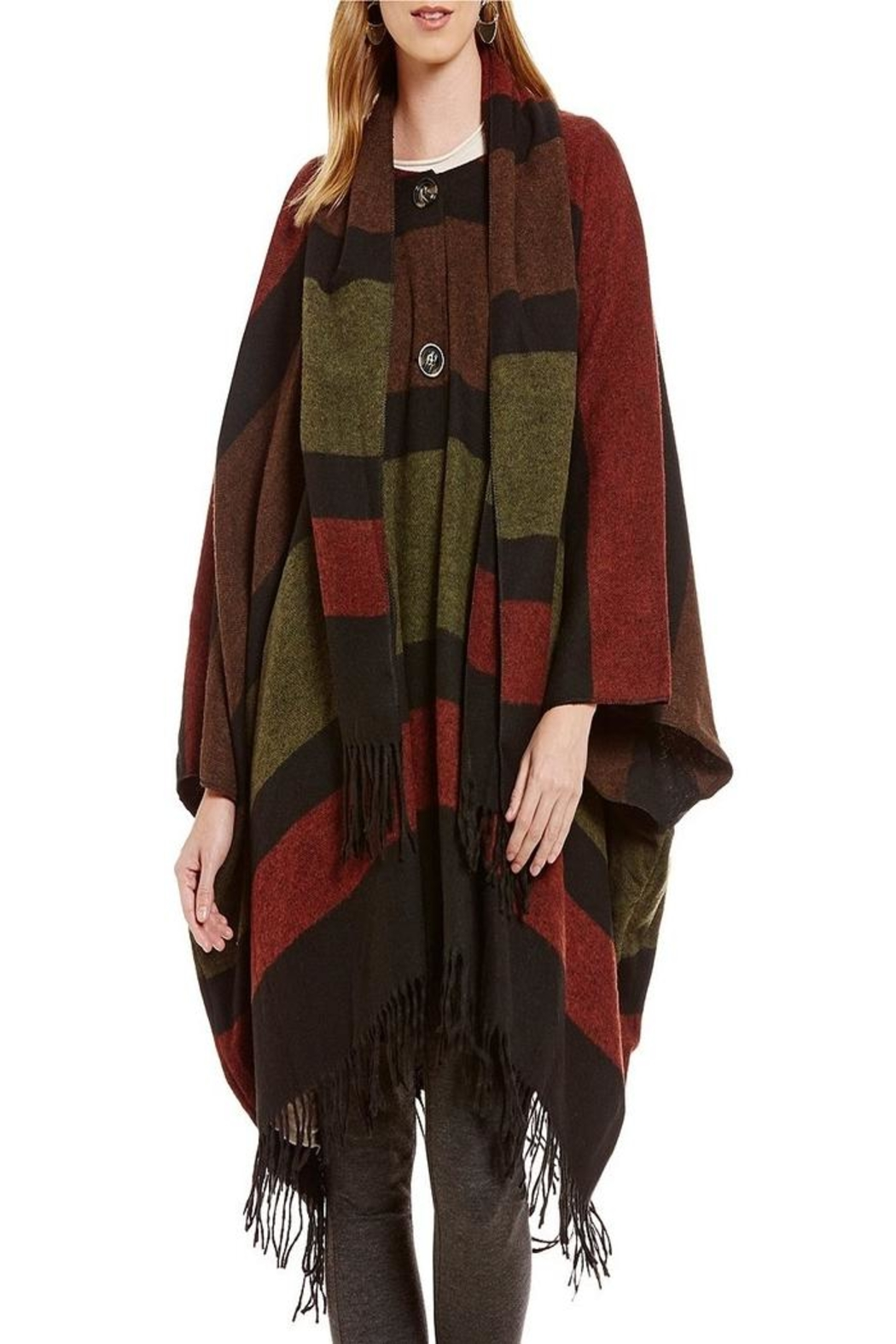 M made in Italy Poncho - Main Image