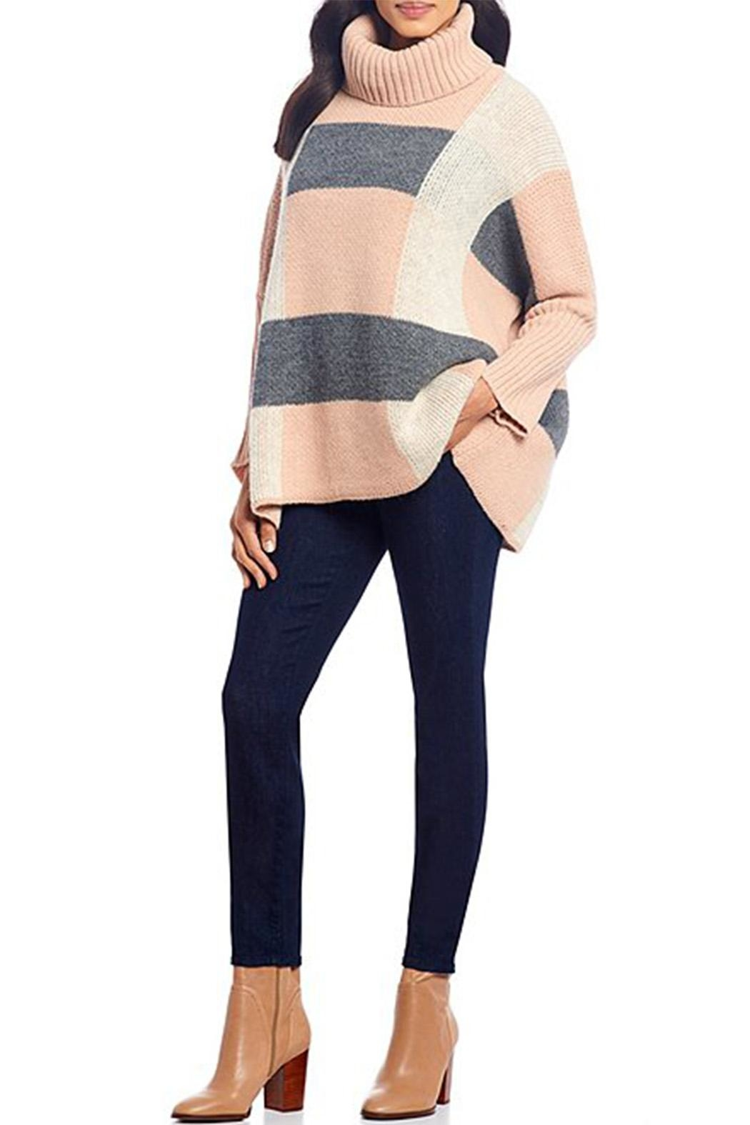 M made in Italy Turtle Neck Sweater - Side Cropped Image