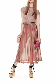 m missoni Pleated Midi Skirt - Product List Image
