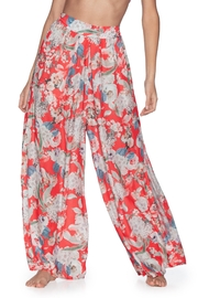 Maaji Flower Petals High Waisted Beach Pants - Product Mini Image