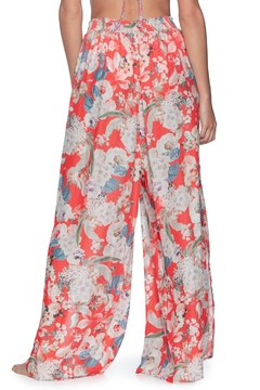 Maaji Flower Petals High Waisted Beach Pants - Alternate List Image