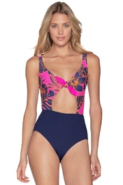 Maaji Blueberry Sherbet Reversible One Piece - Front cropped