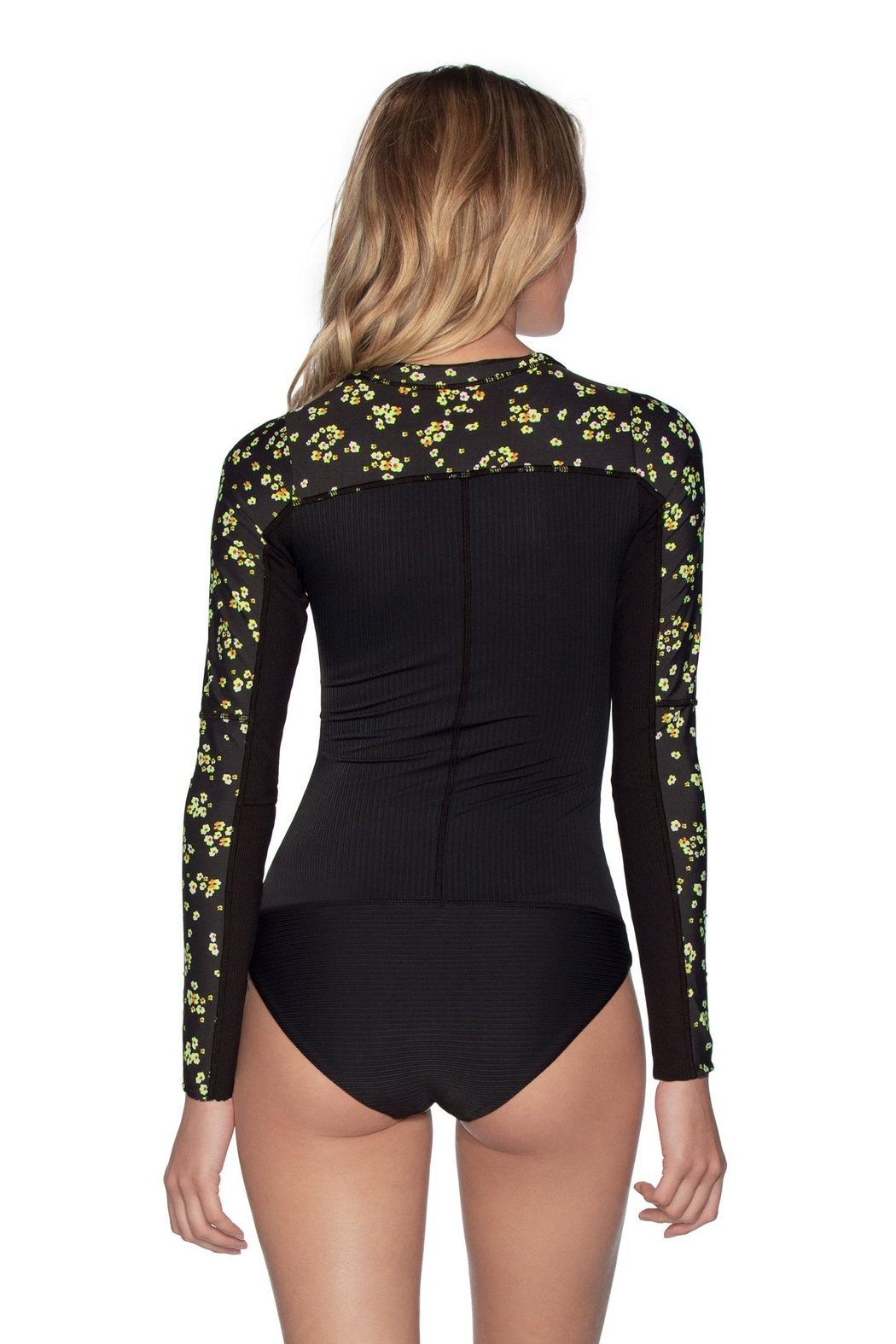 Maaji Plumeria Bloom Surfer One Piece - Front Full Image