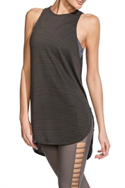 Maaji Silky Striped Tank - Front cropped