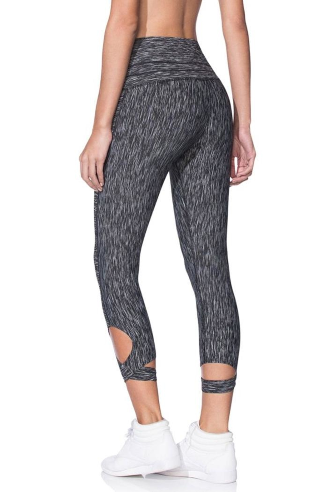 Maaji Wrap Capri Leggings - Front Full Image