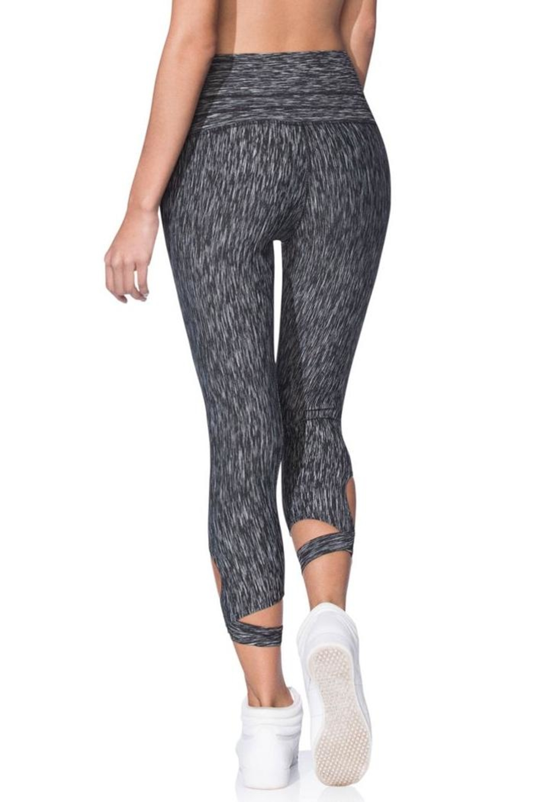 Maaji Wrap Capri Leggings - Back Cropped Image