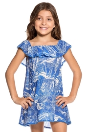 Maaji Swimwear Bluecat Fish Dress - Front cropped