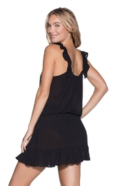Maaji Swimwear Jet Black Dress - Front full body