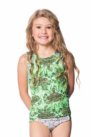 Maaji Swimwear Lime Waterfalls Rashguard - Product Mini Image