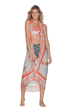 Maaji Swimwear Maaji Butterfly Blush Sarong - Alternate List Image