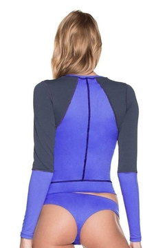 Maaji Swimwear Mediterranean Blue Rashguard - Alternate List Image