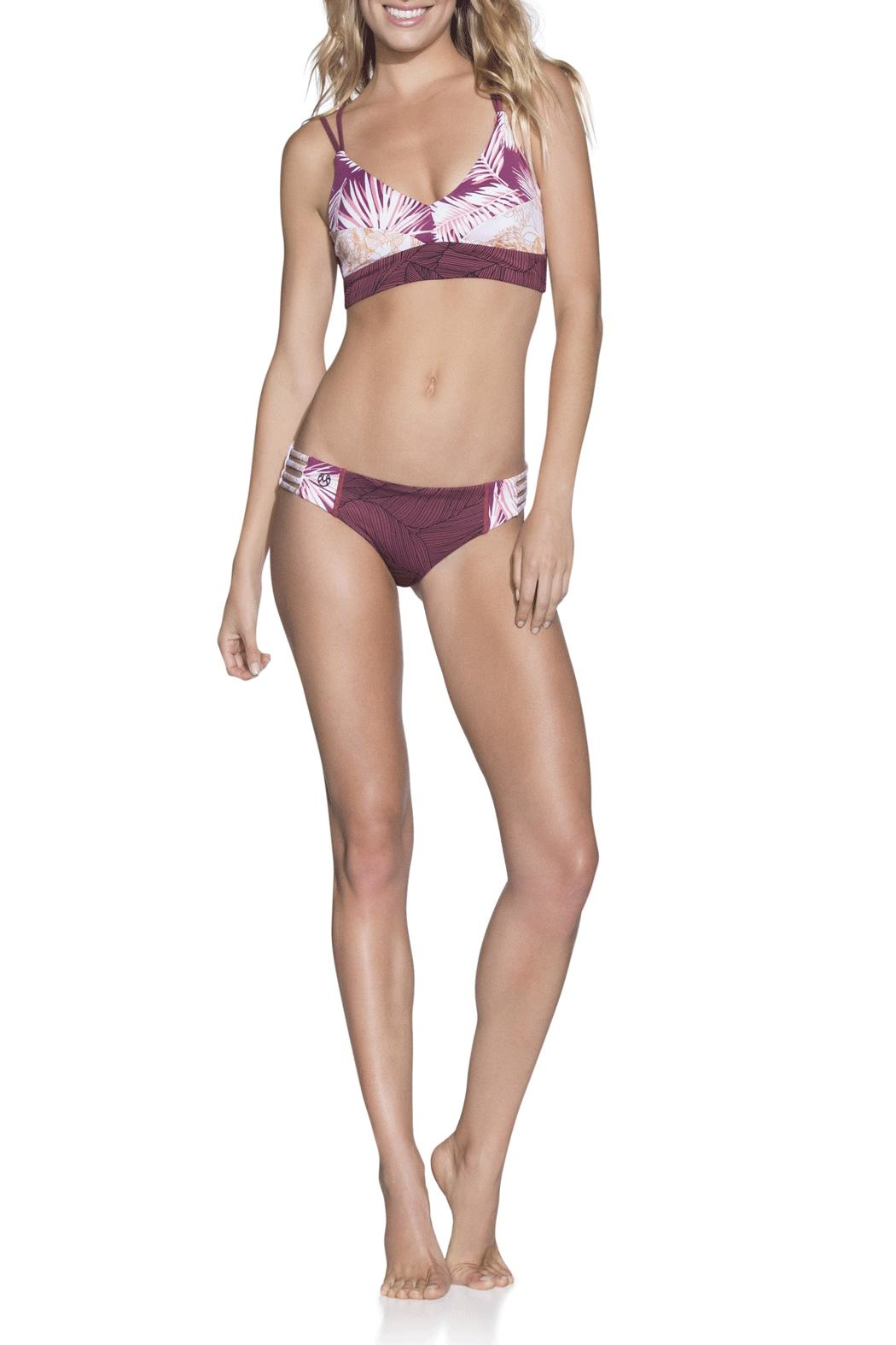 Maaji Swimwear Rose Velvet Top - Main Image