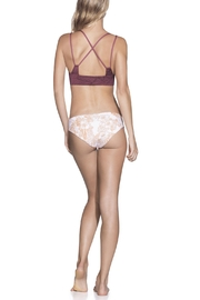 Maaji Swimwear Rose Velvet Top - Front full body
