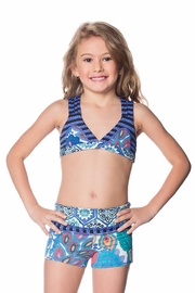 Maaji Swimwear Sherbet Blueberry Shorts - Product Mini Image