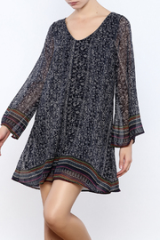 mabel Bell Sleeve Swing Dress - Product Mini Image