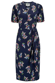 The Seamstress of Bloomsbury Mabel Floral Dress - Front cropped