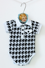 mabel Houndstooth Onesie - Product Mini Image
