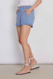 another love  Mabel Short in Blue - Side cropped