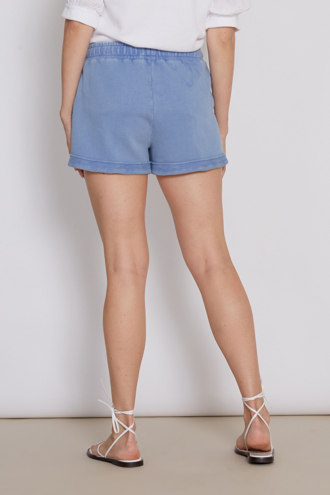 another love  Mabel Short in Blue - Front Full Image