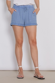 another love  Mabel Short in Blue - Front cropped