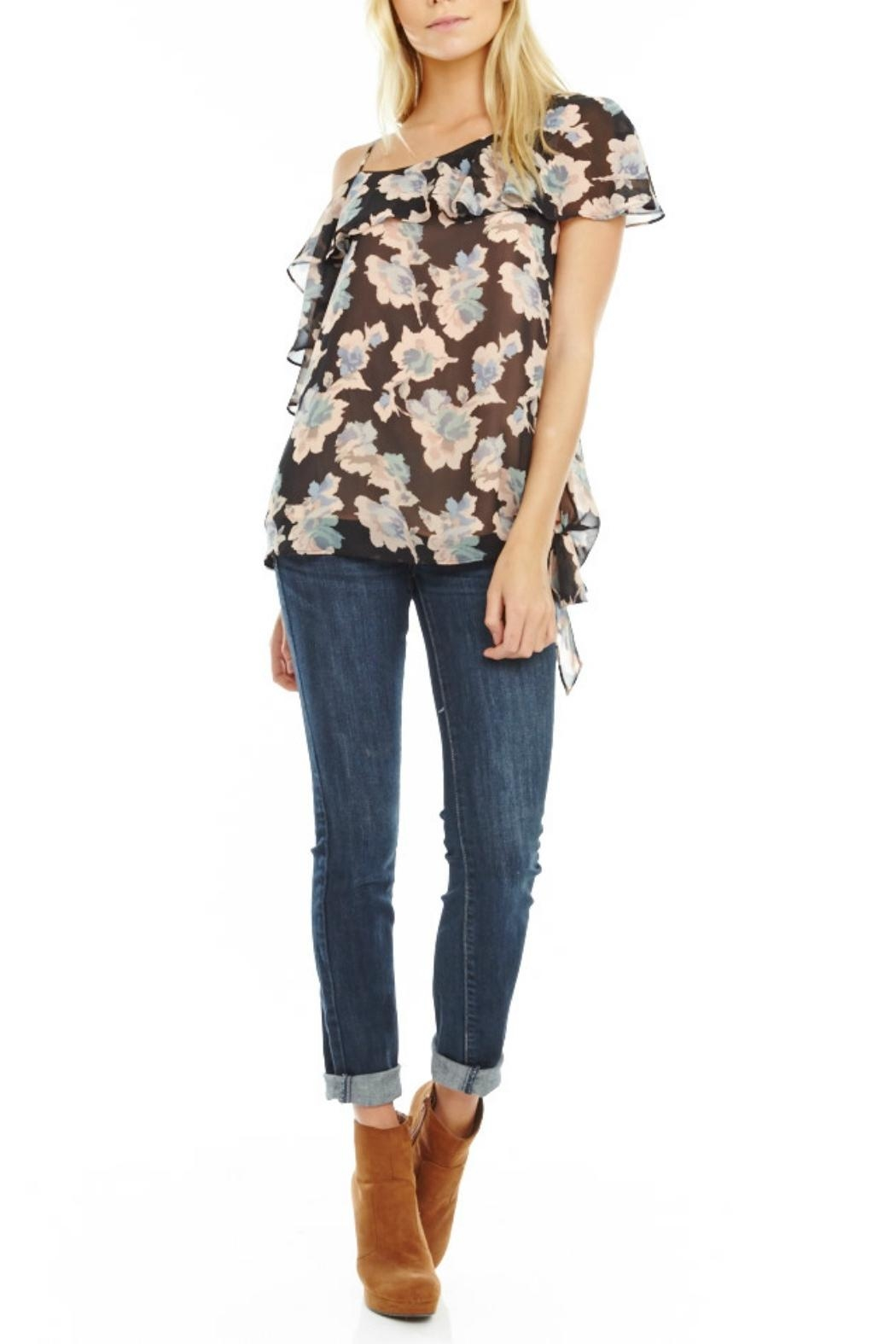 Mabel & Mary Moonlight One-Shoulder Top - Main Image
