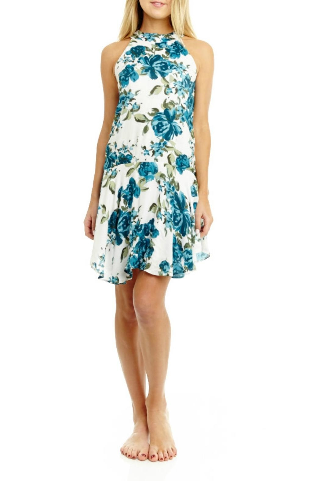 Mabel & Mary Viridity Floral Dress - Main Image