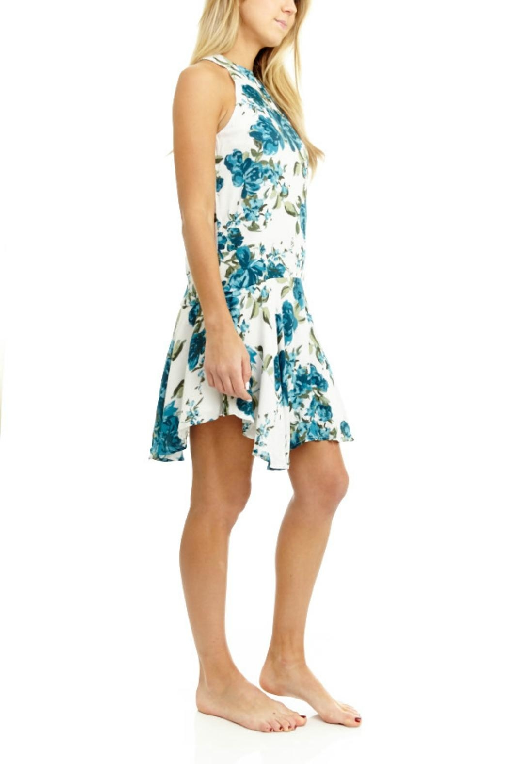 Mabel & Mary Viridity Floral Dress - Front Full Image