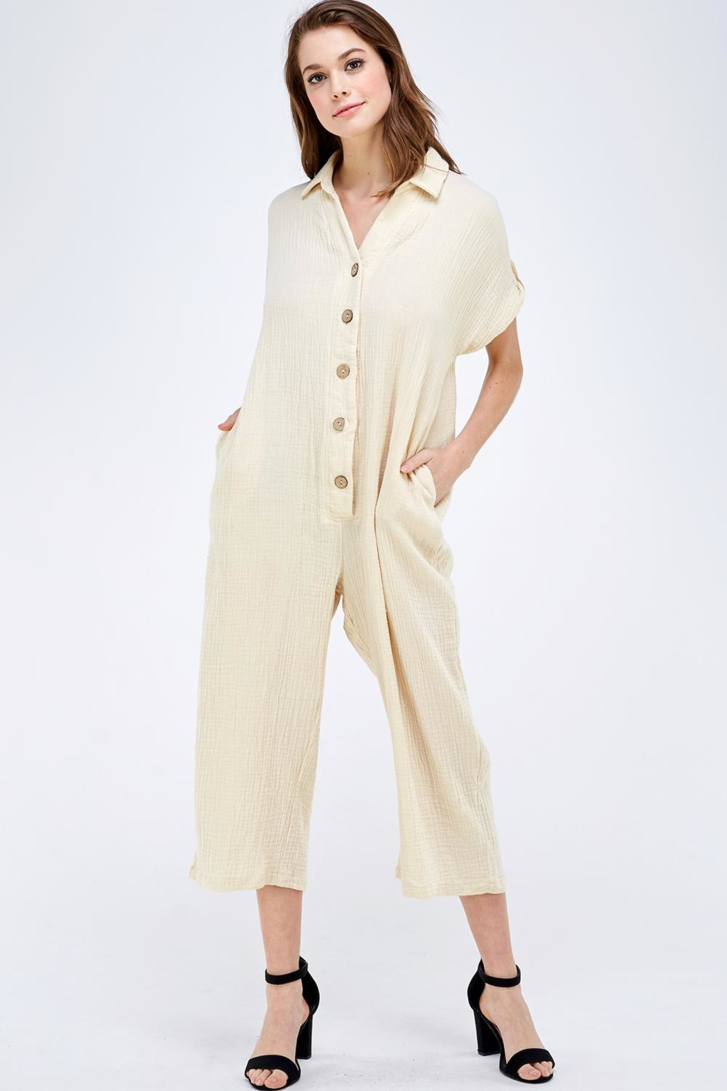 Mable Button Up Jumper - Main Image
