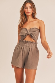 Mable Cope Pocketed Shorts - Front full body