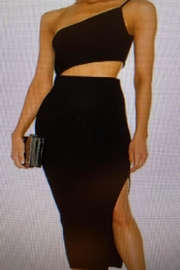 Mable Cut Out Dress - Front cropped