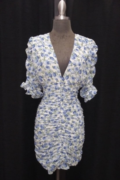 Mable Floral Shirring Dress - Product List Image