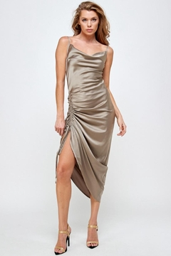 Mable Front Drawstring Dress - Product List Image