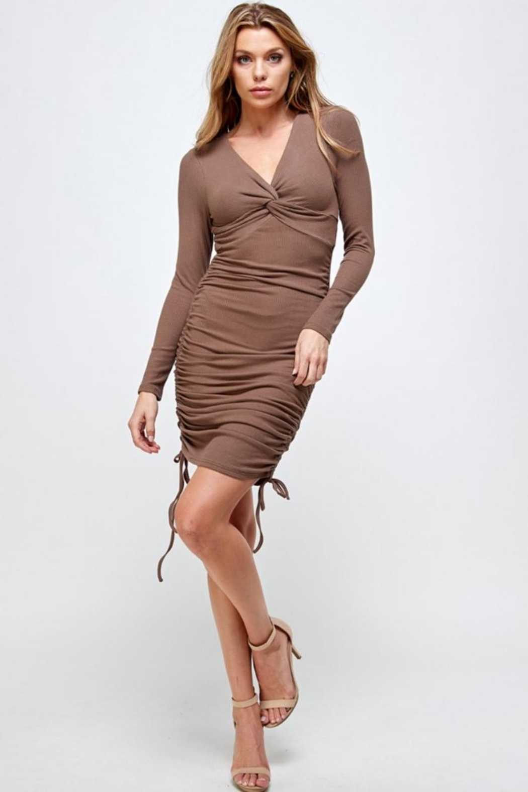 Mable Front Twist Dress - Main Image