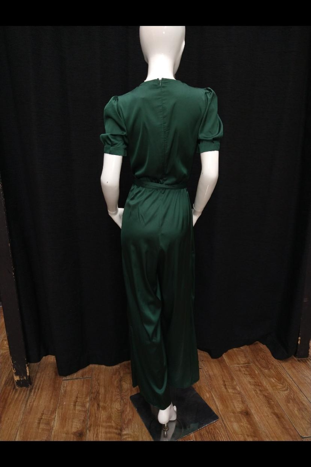 Mable Hunter Green Jumpsuit - Front Full Image