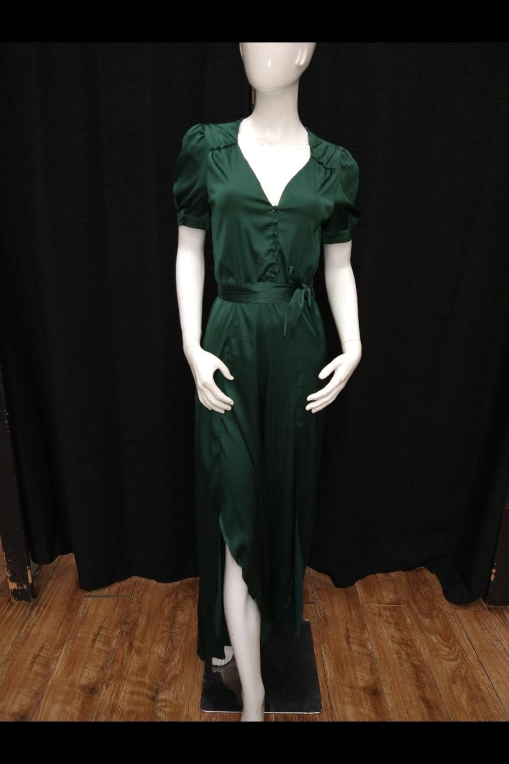 Mable Hunter Green Jumpsuit - Main Image