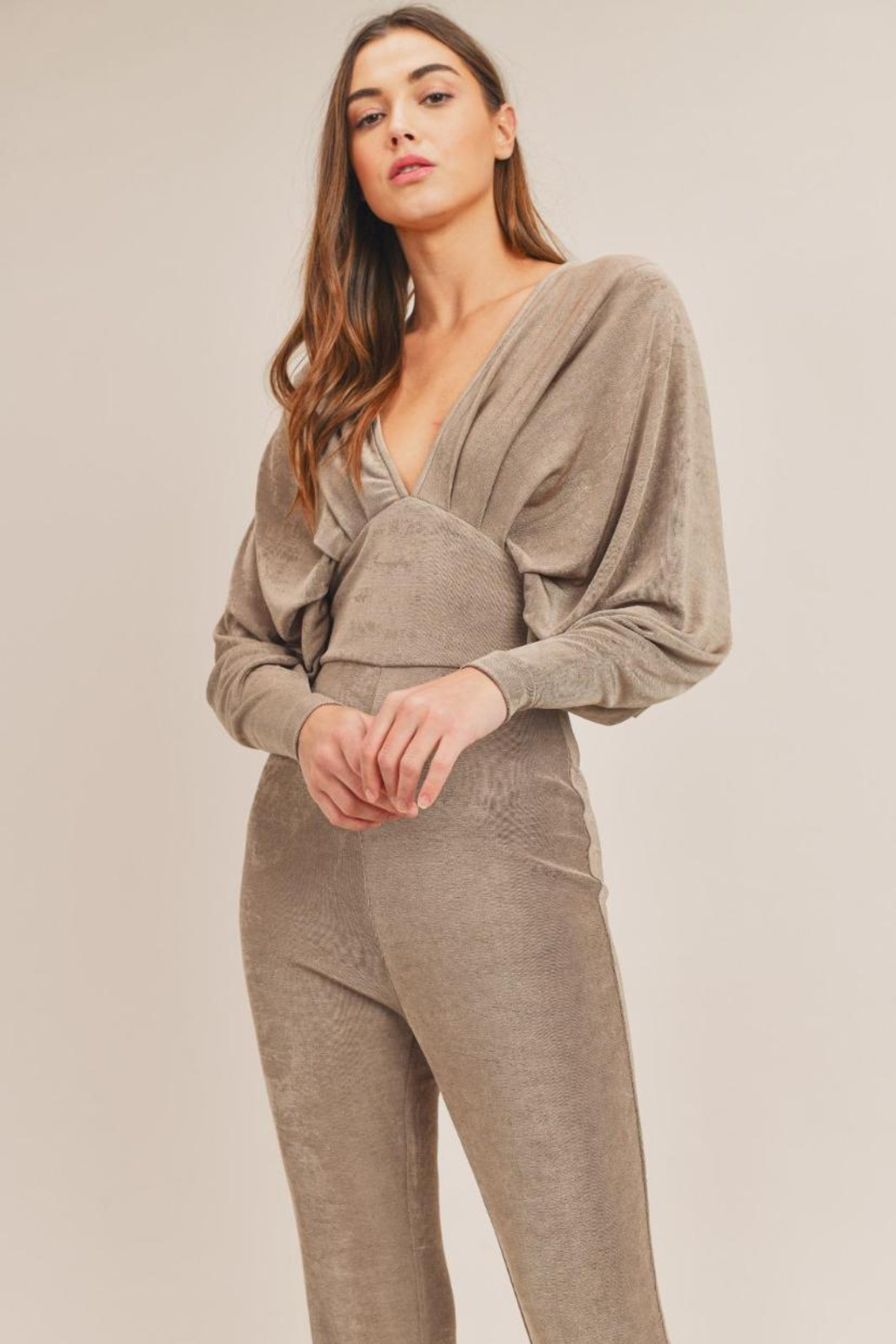 Mable Kimono Jumpsuit - Front Full Image