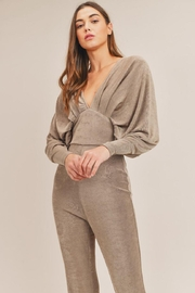 Mable Kimono Jumpsuit - Front full body