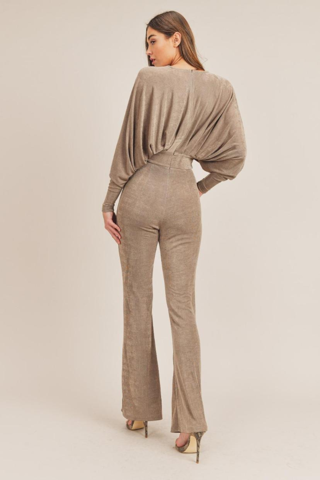 Mable Kimono Jumpsuit - Side Cropped Image