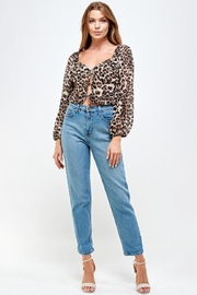 Mable Leopard Print Top - Product Mini Image