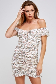 Mable Off-Shoulder Floral Dress - Product Mini Image