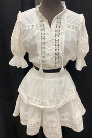 Mable Off-White Skirt Set - Product Mini Image