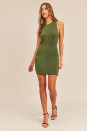 Mable Open Back Bodycon Dress - Product Mini Image