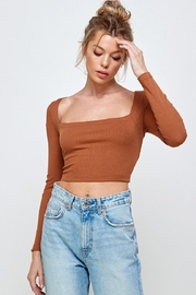 Mable Open-Back Crop Top - Product Mini Image