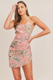 Mable Open-Back Floral Dress - Product Mini Image