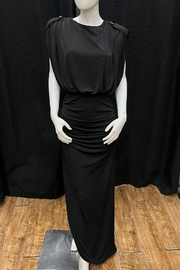 Mable Padded Shoulder Dress - Product Mini Image