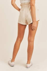 Mable Paperbag Drawstring Shorts - Side cropped