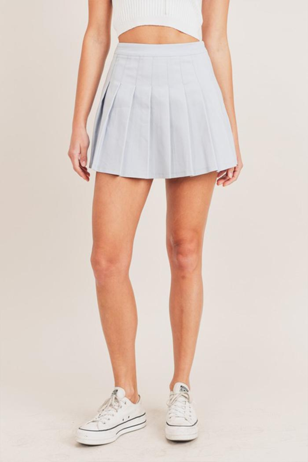 Mable Pleated Tennis Skirt - Main Image