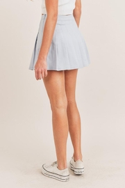 Mable Pleated Tennis Skirt - Side cropped